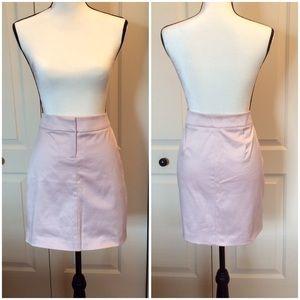Bebe Gina Pencil Skirt Dusty Mauve NWT